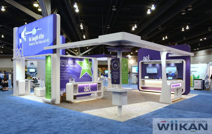 ACL Systems Ltd. - Presentation Area in Custom 30x30ft booth, IIA 2015