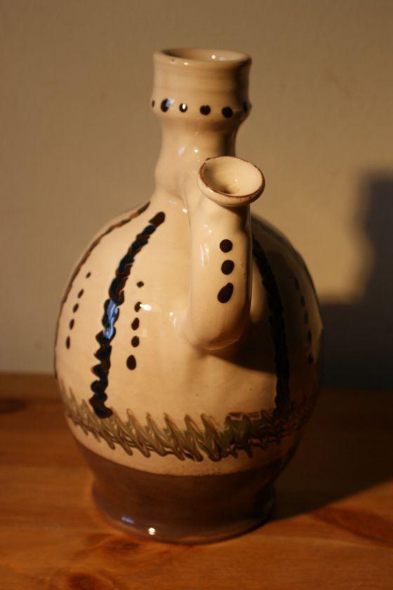 Ulcior ceramic traditional de Horezu, calitatea I - 1 litru