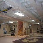 Fantastic Basement Ceiling Eclectic