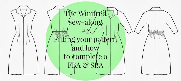The Winifred sew-along