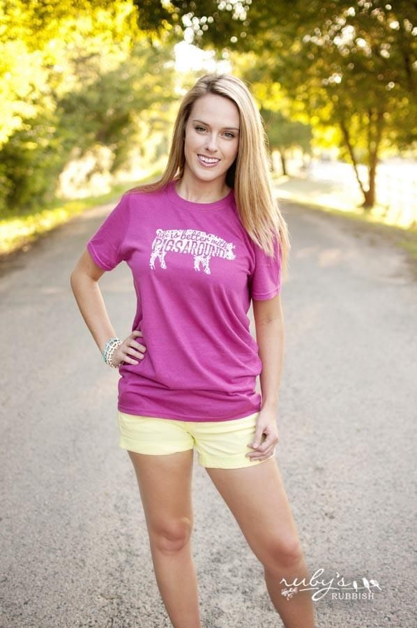 Life is Better with Pigs Around - Southern T-Shirt