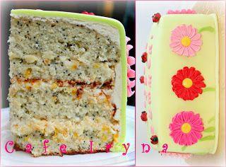 Сafe Iryna: Маково-цитрусовый торт