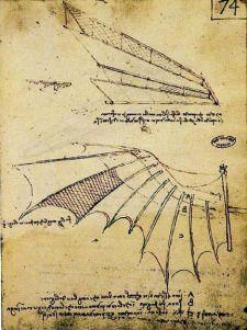 Leonardo da Vinci: der Traum vom Fliegen