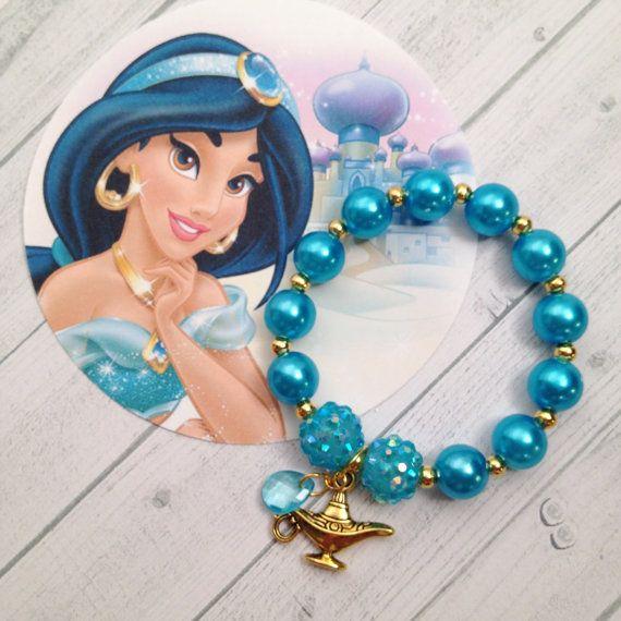 8  princesa jazmín Pearl Genie lámpara fiesta de cumpleaños