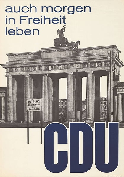 CDU, West Germany, 1961