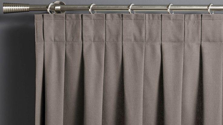 trendy plis plats cette finition offre vos rideaux un style rsolument saint maclou with voilage. Black Bedroom Furniture Sets. Home Design Ideas