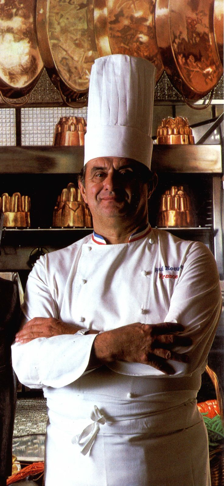 PAUL BOCUSE: One of the most famous Chefs associated with Nouvelle cuisine. He is based in Lyon, FRANCE