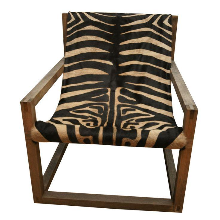 1stdibs | Zebra Chair