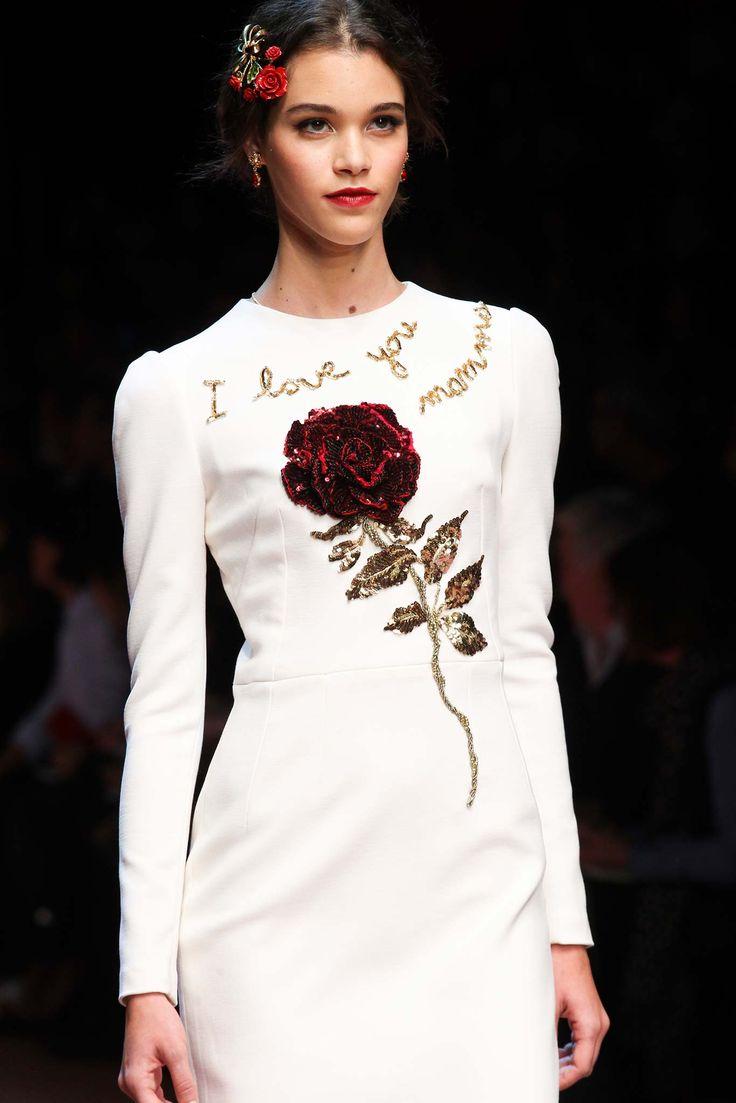 Dolce & Gabbana | Fall 2015 Ready-to-Wear | Katya Ledneva