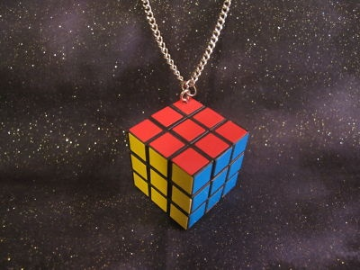 Rubix Cube Necklace