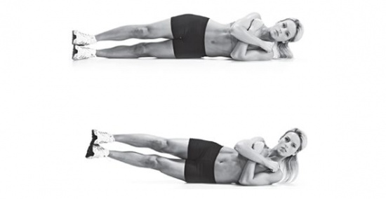 Exercise of the Day: Oblique V-Ups   Burn out those love handles!