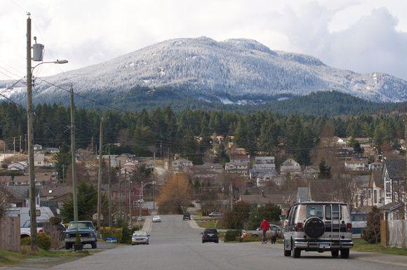 Mt.Benson 1023 m Nanaimo BC
