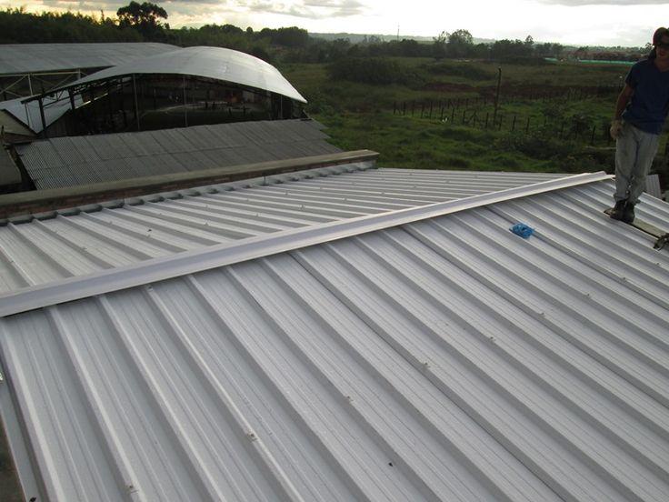 Instalaci n de cubiertas todo en techos techos pinterest for Cubiertas para techos livianas