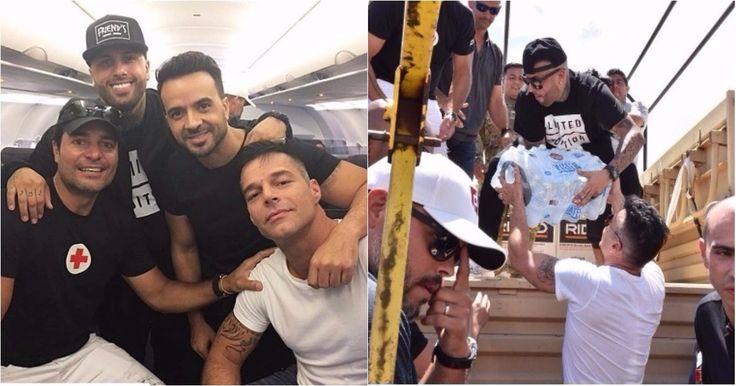 Nicky Jam, Chayanne, Ricky Martin y Luis Fonsi ayudan a Puerto Rico (VIDEO) #Farándula #ayuda #Chayanne #LuisFonsi #nickyjam