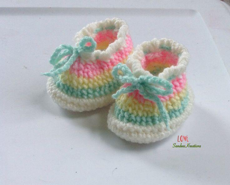 51 best Schuhe häkeln images on Pinterest | Babyschuhe, Schuhe ...