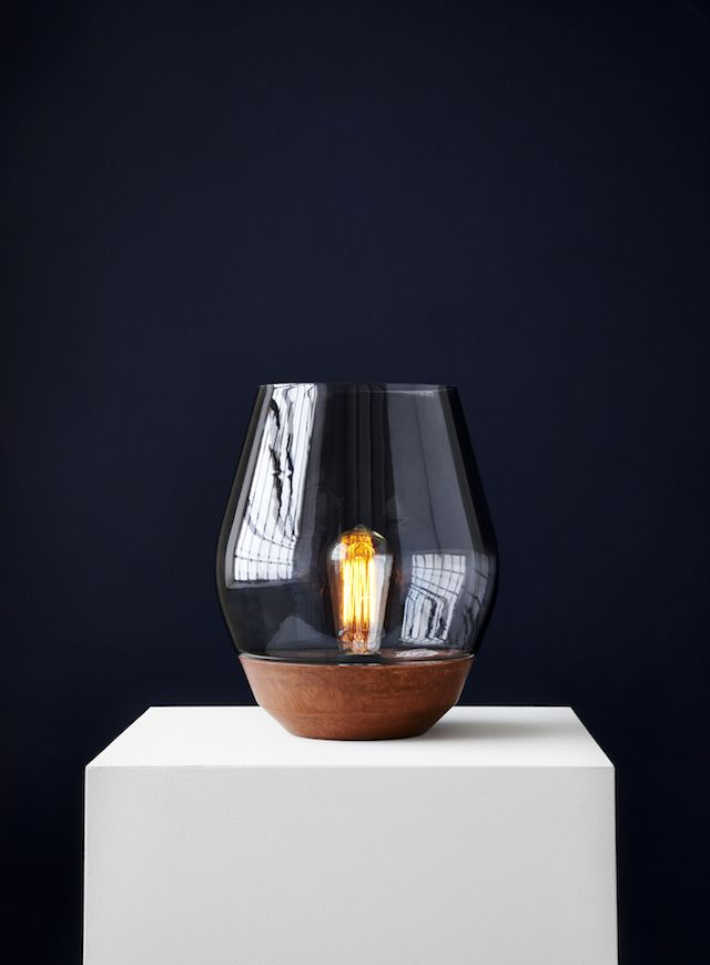 T d c bowl table lamp by new works