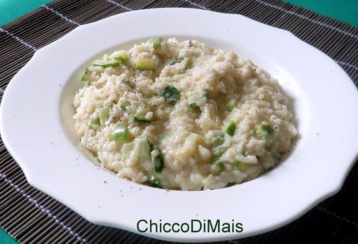 Risotto al gorgonzola e zucchine (ricetta primo)