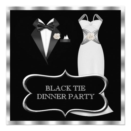 25 Best Ideas About Black Tie Invitation On Pinterest