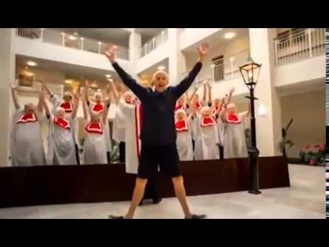 Dom starców  :-) Pharrell Williams - Happy (Pensioner Remix, Christchurc...