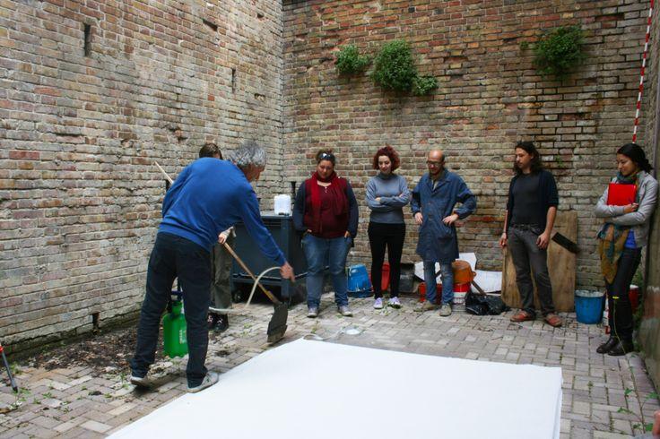 Pittura di scena con Rinaldo Rinaldi: Imprimitura