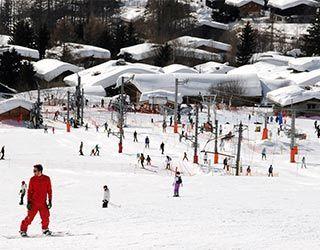 Ski the small slopes for Beginners | Domaine de la Vormaine | Le Tour, Chamonix,  France