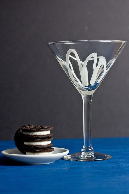 Double Stuf Oreo Martini