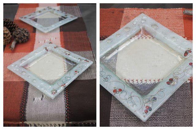 Centros de mesa / Platos apto para alimento en vitrofusion (fused glass)