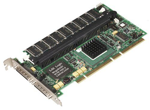 Lexar 3202064B SCSI 64MB 2-Channel Ultra320 Storage Adapter by LSI Logic. $195.00. The MegaRAID SCSI 320-2 dual-channel, RAID storage adapter offers maximum I/O performance and data throughput by leveraging a stable and proven RAID firmware core with Fusion-MPT (Message Passing Technology), LSI Logics advanced next generation I/O technology. The MegaRAID SCSI 320-2 benefits from a streamlined firmware level programming interface and advanced hardware designs fo...