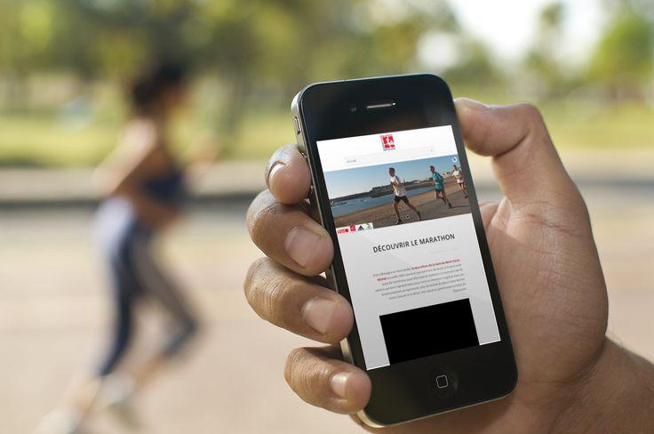 L'équipe de Poisson Bouge accompagne le Marathon de la baie du Mont Saint Michel pour la refonte de leur site internet et son passage en Responsive Design.