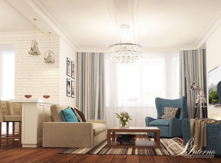 скандинавский стиль для квартиры студии - Поиск в Google