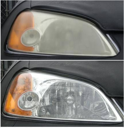 Discolored headlights? Try Cutter bug spray it works. Some say say toothpaste works too
