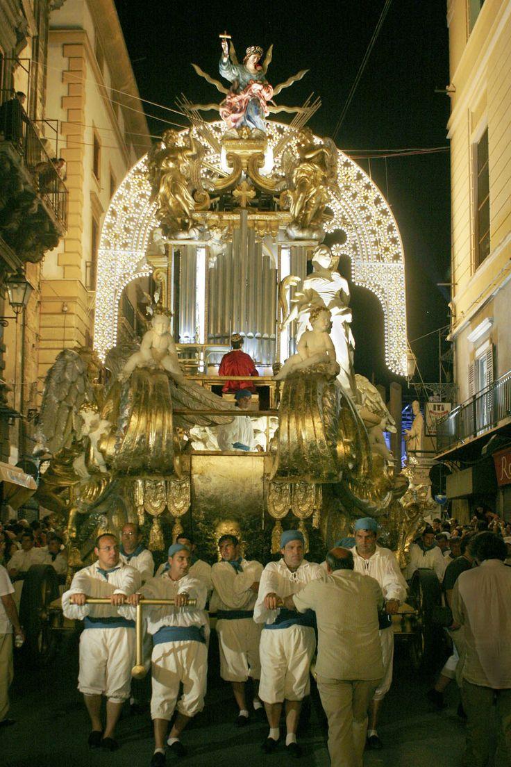 Festino di Santa Rosalia ( Palermo) a huge celebration of the holy protector of the capital of Sicily - July 14th