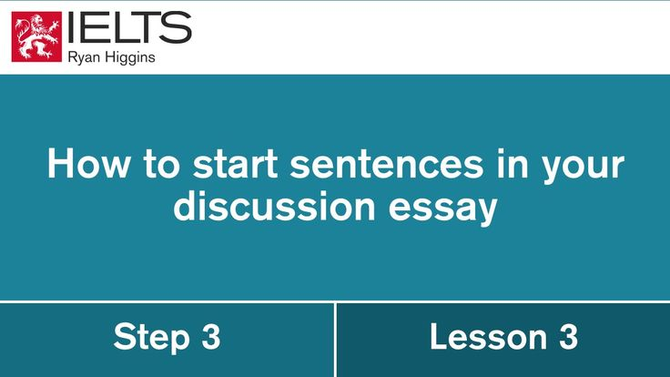 Ielts ryan discussion essay