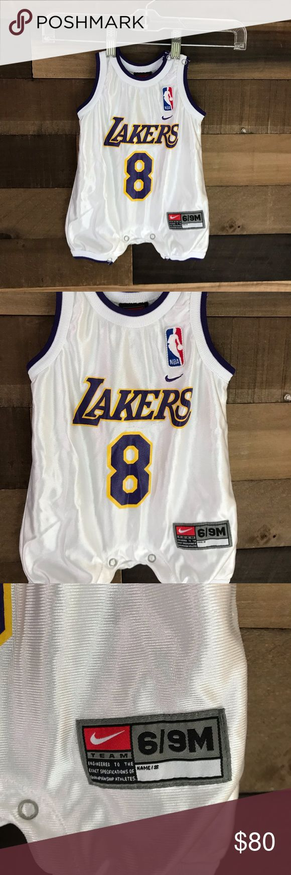 Kobe Bryant Lakers vintage baby jersey 6/9 mos   Kobe bryant baby ...