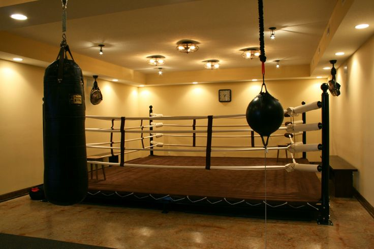 A State Of The Art Custom Boxing Arena Created For One Of Our Past Homebuyers Home Design Decor By B L Rieke As Home Gym Design Gym Design Best Home Gym