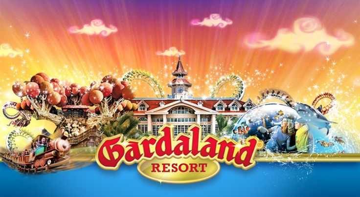 Check out the map showing #Gardaland and other #LakeGarda Attractions