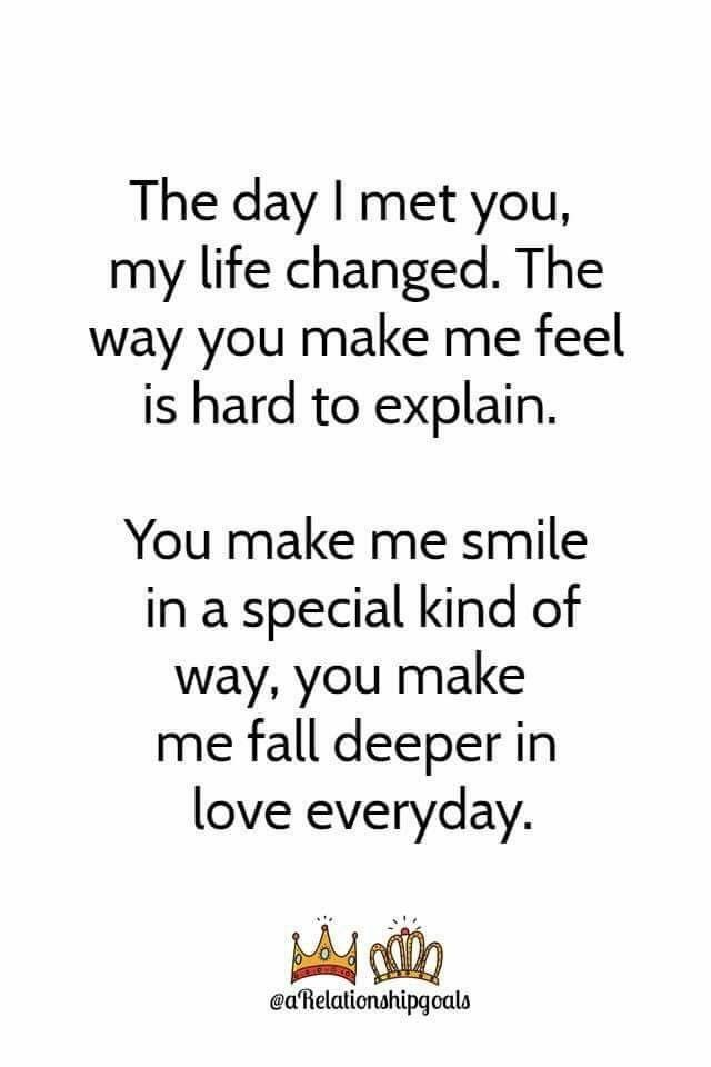 Baby I Love The Way You Make Me Smile : smile, Deeper, Everday..I, Baby., Quotes,, Yourself, Quotes
