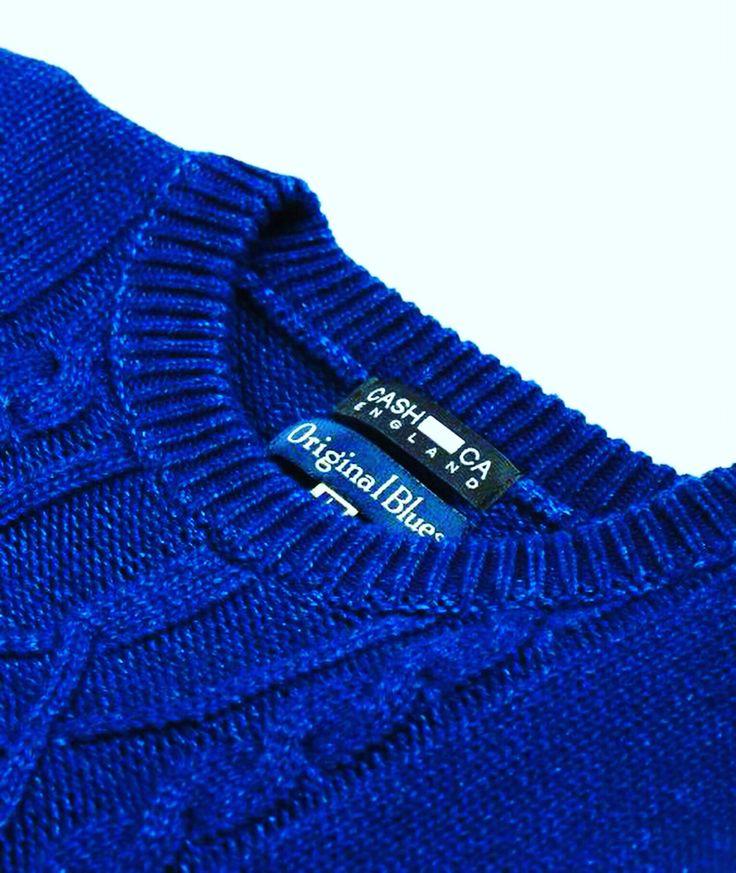 Denim knitwear from www.originalblues.uk
