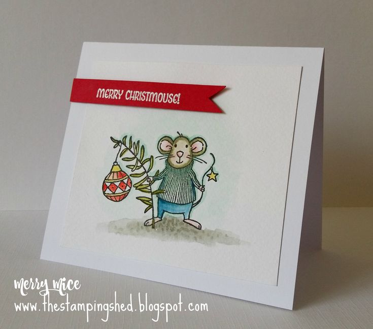 Merry Mice Stampin Up Autumn winter catalogue 2016 http://thestampingshed.blogspot.co.uk/2016/09/merry-mice.html
