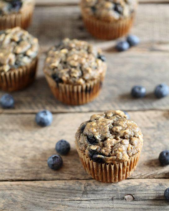 Whole Wheat Blueberry Banana Muffins | Recipe | Breakfast ...