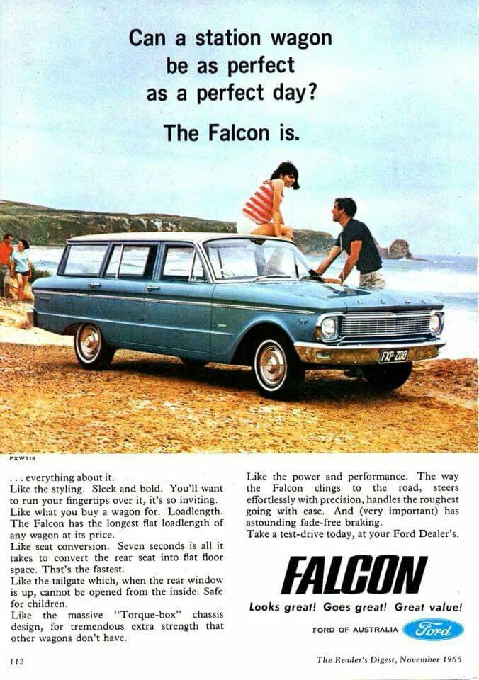 Pin By Erik Hotfootgt On Car Ads Brochures Promo Photos With Images Ford Falcon Australian Cars Ford Classic Cars