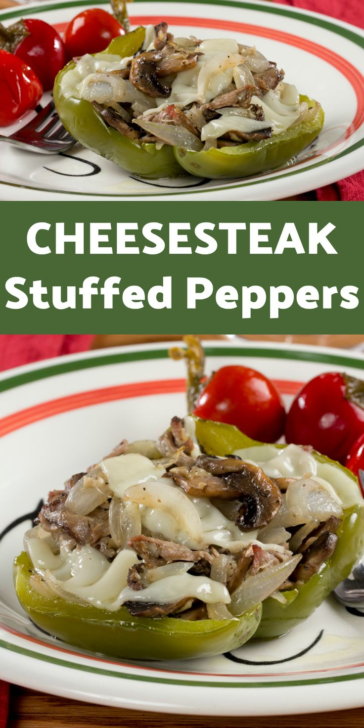 496 best everyday diabetic recipes images on pinterest diabetes we stuffed all the goodness of a philly cheesesteak into fresh peppers to come up with forumfinder Image collections
