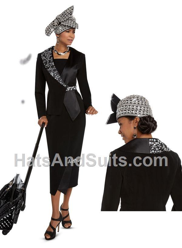 e10ab4580cc 11620 Donna Vinci Church Suit FH18 2 Pc. Jacket   Skirt Set