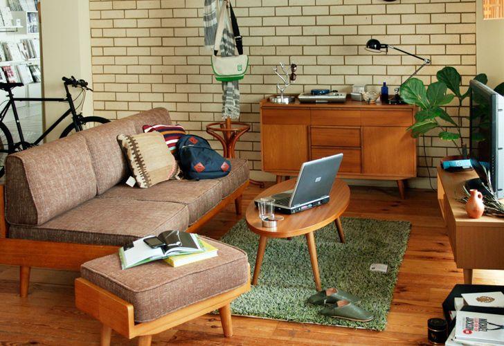 無造作なカジュアルリビング一覧 | インテリアショップ[unico]:家具/インテリア/ソファ/ラグ等の販売。