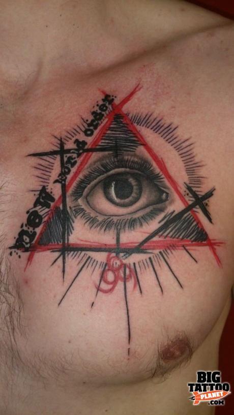 Daniel Dude Skinz Hartley - Abstract Tattoo | Big Tattoo Planet