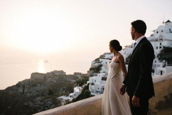 Santorini Dreaming / Wedding Style Inspiration / LANE