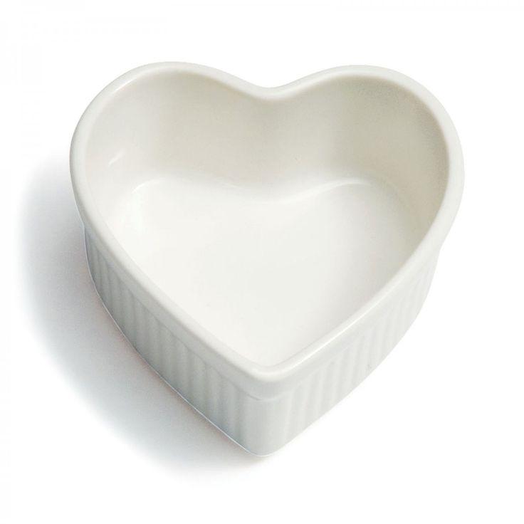 Heart Ramekin - David Mellor Design #baking #bakeware #hearts #cookware