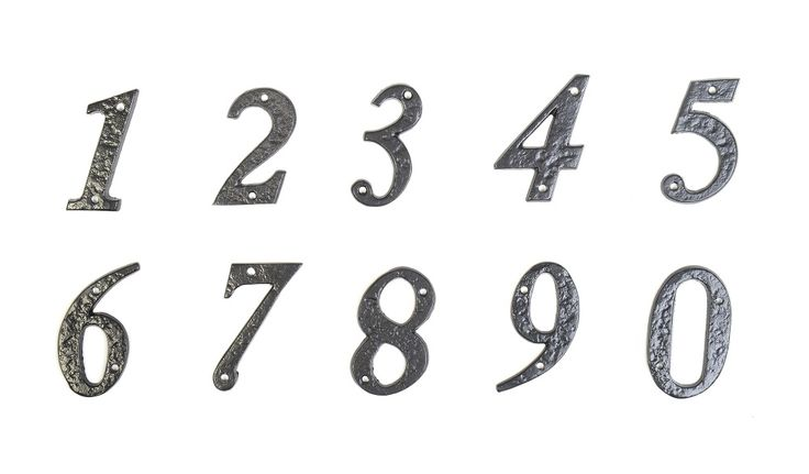 Letters And Numbers For House