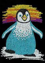 Sequin Art Junior Penguin 0711 KSG   Hobbies