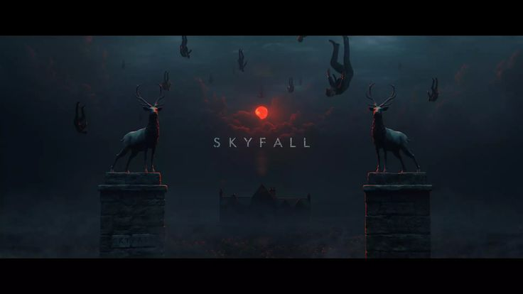 "Homage to ""Skyfall"" title sequence on Vimeo"